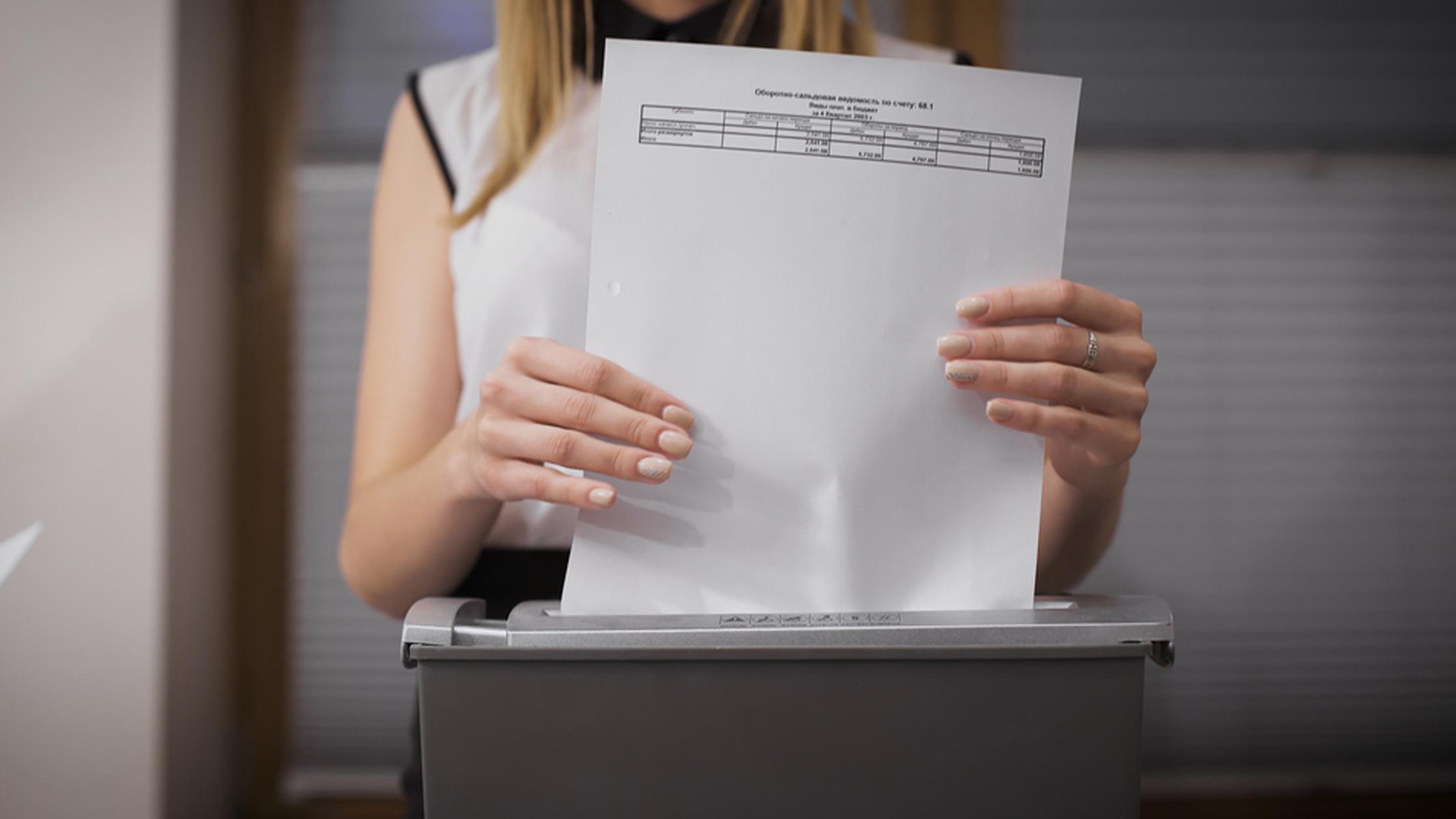 Entenda como descartar documentos digitalizados com segurança